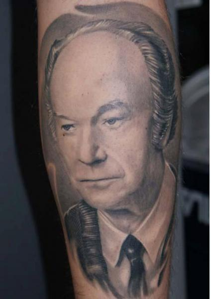 Portrait Realistic Tattoo by Tattoos by Mini
