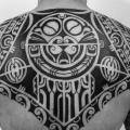 Back Tribal Maori tattoo by C-Jay Tattoo