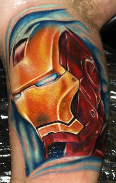 Arm Fantasie Ironman Tattoo von Tattoo by Roman