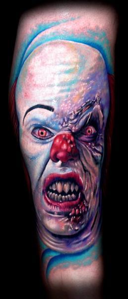 Fantasie Clown Tattoo von Tattoo by Roman