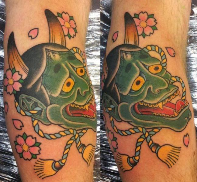 Arm Japanische Drachen Tattoo von Spilled Ink Tattoo