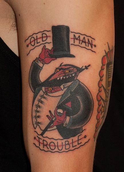 Fantasie Tattoo von The Sailors Grave