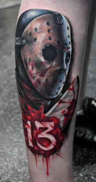 Arm Fantasy Monster Tattoo by Benjamin Laukis