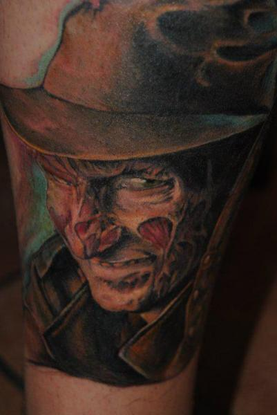 Tatuaggio Braccio Fantasy Nightmare di Victor Chil
