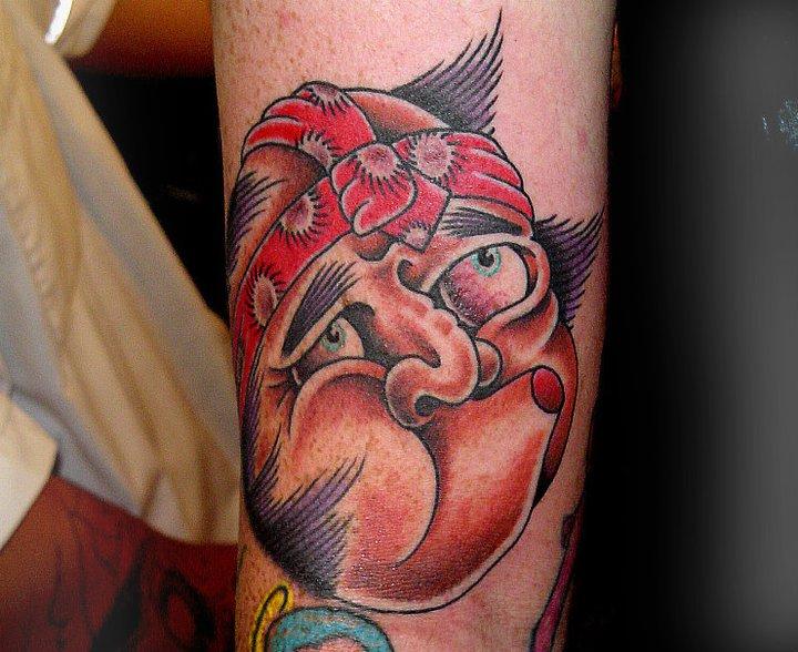 Arm Japanese Tattoo by Salt Water Tattoo
