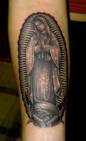 Arm Religiös Tattoo von Salt Water Tattoo