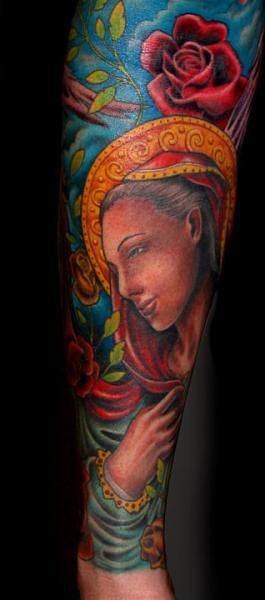 Seite Religiös Tattoo von Salt Water Tattoo