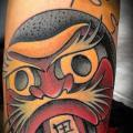 Arm Old School Japanische tattoo von Sketchy Lawyer