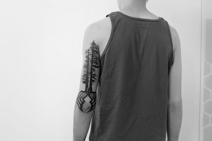 Arm Tree Tattoo by 2 Spirit Tattoo