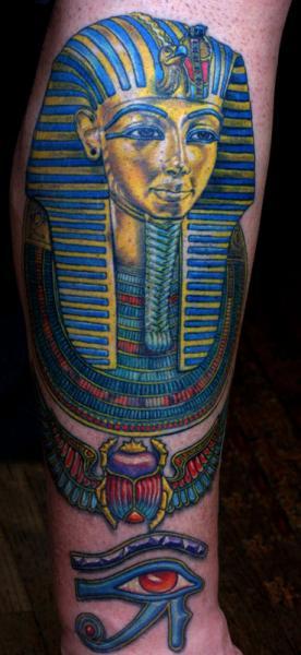 Arm Egypt Pharaon Tattoo by Anil Gupta