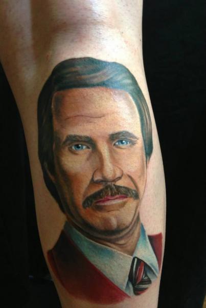 Portrait Realistic Tattoo by Bearcat Tattoo