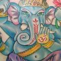 Shoulder Religious Ganesh tattoo by Bearcat Tattoo