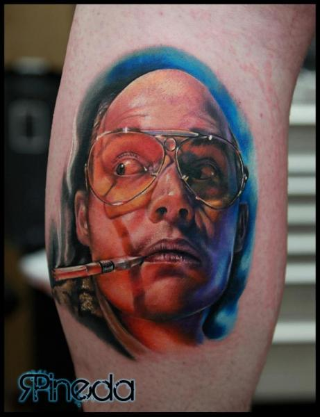 Arm Porträt Realistische Tattoo von Rich Pineda Tattoo