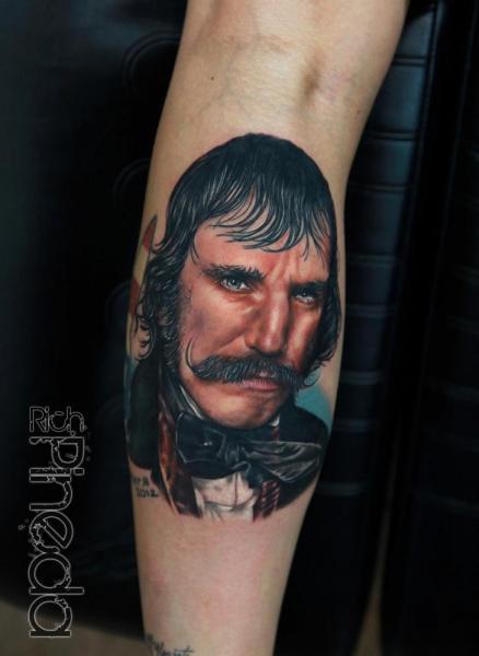 Portrait Realistic Tattoo by Rich Pineda Tattoo