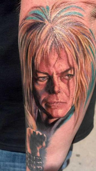 Tatuaggio Braccio Ritratti Realistici di Heather Maranda