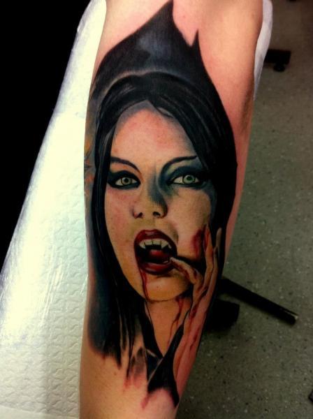 Arm Fantasy Vampire Tattoo by Alans Tattoo Studio