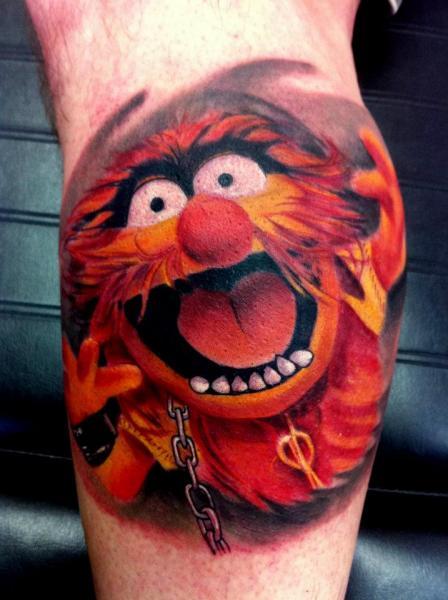 Fantasy Character Tattoo by Alans Tattoo Studio