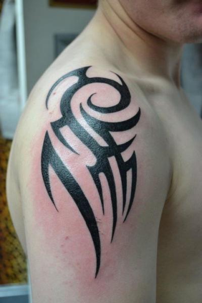 Tatuajes Tribales En El Hombro Para Hombres Gallery Of Tatuajes