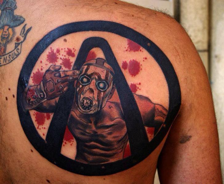 Back Tattoo by Dark Art Tattoo