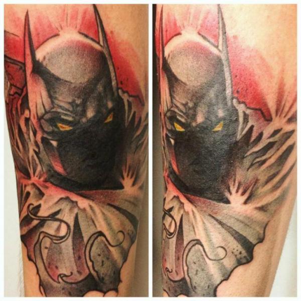 Fantasy Batman Tattoo by Dark Art Tattoo