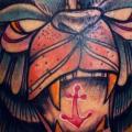 tatuaje Brazo Fantasy Mono por Morbida Tattoo