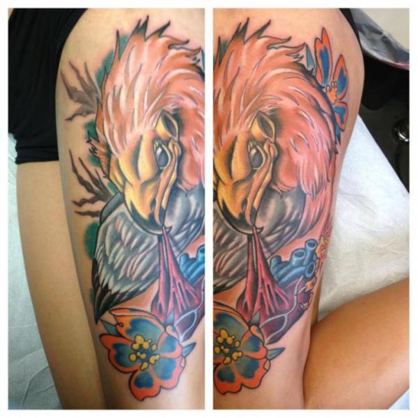Schulter Fantasie Adler Tattoo von Levy Hilton