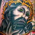 Arm Jesus Religious tattoo by Da Vinci Tattoo