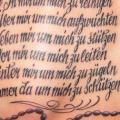 Schulter Leuchtturm Rücken Rosenkranz tattoo von Ink Tank