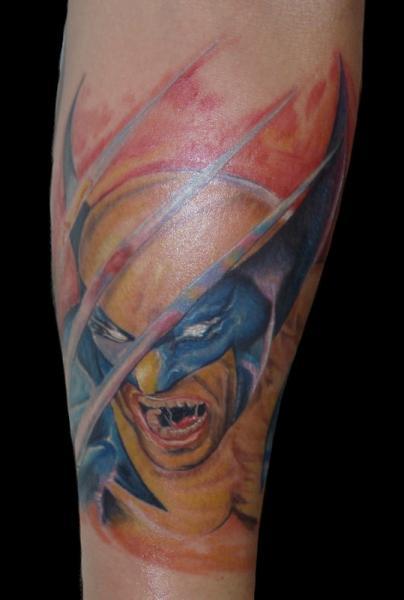 Arm Fantasie Held Tattoo von Csaba Kiss