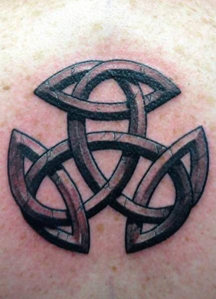 Tatuaje Tribal Celta 3d por Q Tattoo