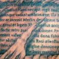 Brust Leuchtturm 3d tattoo von Morbid Art Tattoo