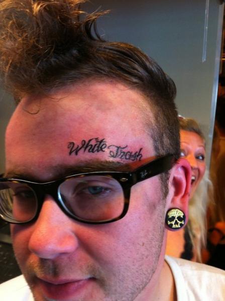 Tatuagem Estilo De Escrita Rosto por Stay True Tattoo
