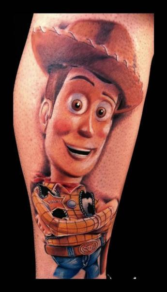 Tatuaje Brazo Fantasy Toy Story por Art Junkies Tattoos