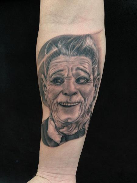 Arm Portrait Tattoo by Art Junkies Tattoos