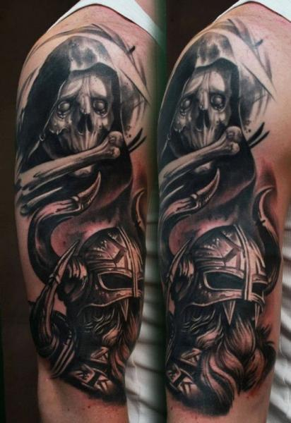 Arm Fantasy Tattoo by 1969 Tattoo