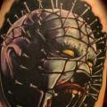 Fantasy Hellraiser tattoo by Hellyeah Tattoos