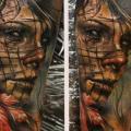 tatuaje Brazo Fantasy Mujer Hoja por Bloodlines Gallery