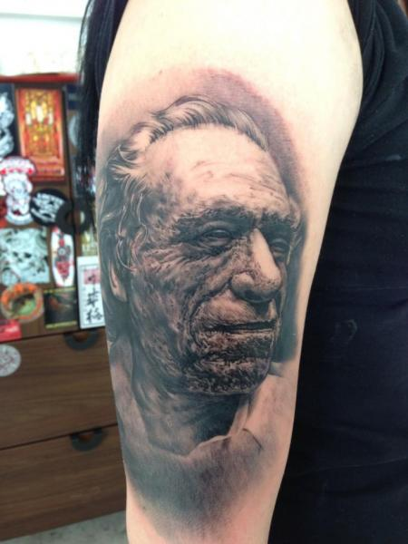 Arm Portrait Realistic Tattoo by Putka Tattoos