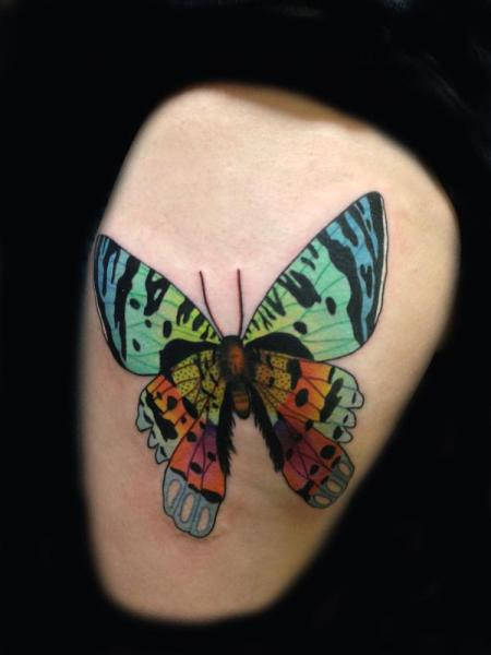 Arm Butterfly Tattoo by Transcend Tattoo