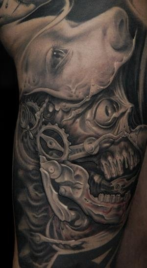 Arm Fantasy Tattoo by 9th Circle