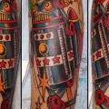 Arm Fantasy Robot tattoo by Rock of Age
