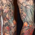 tatuaje Japoneses Manga por Three Kings Tattoo