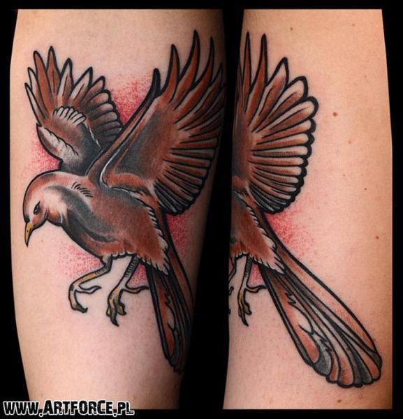 Vogel Tattoo von Art Force Tattoo