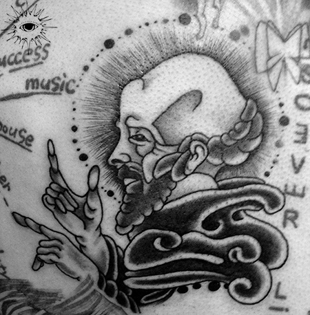Religious Tattoo by Maverick Ink