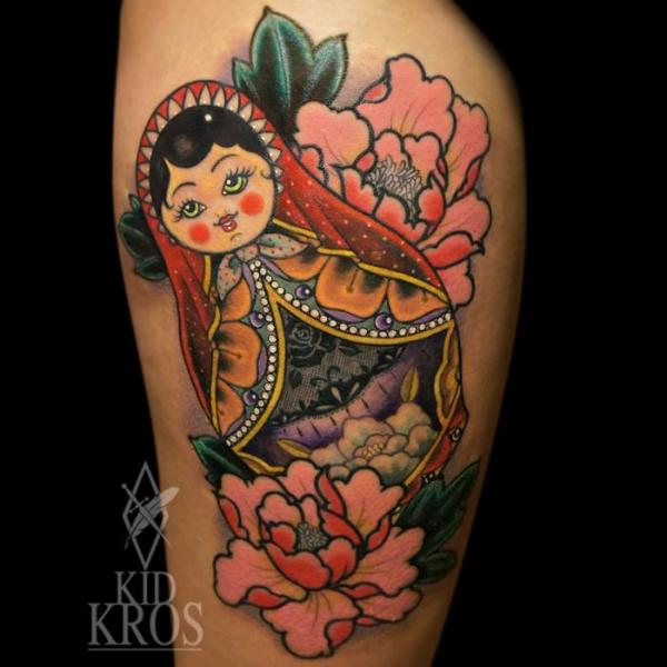 Arm Tattoo by Kid Kros