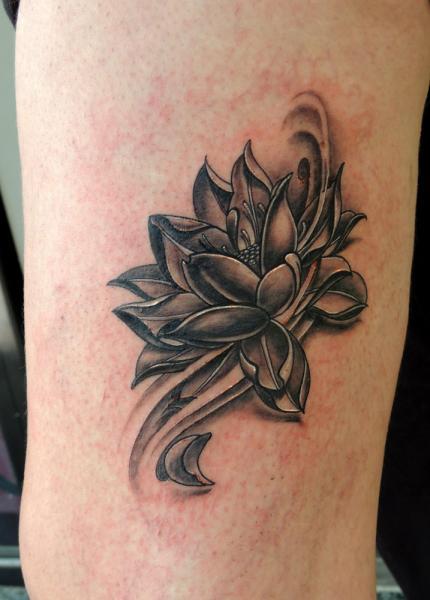 Flower Tattoo by Next Level Tattoo