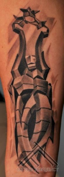 Arm Abstract Tattoo by Tattoo Frequency