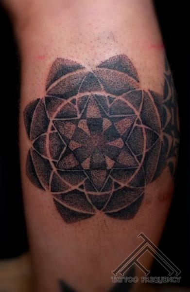 Arm Dotwork Tattoo by Tattoo Frequency