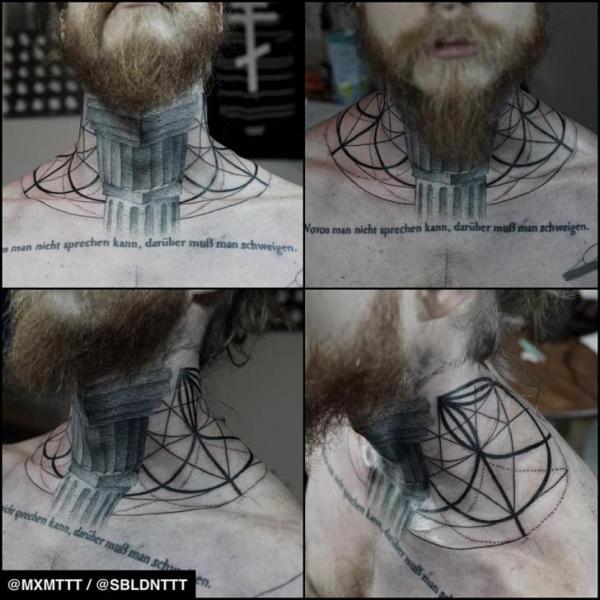 Dotwork Tattoo by MXM