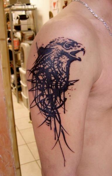 Tatuaggio Spalla Aquila di Xoïl